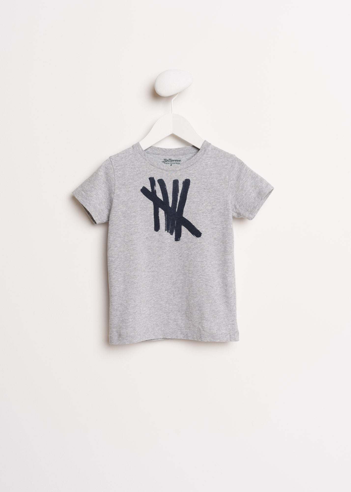 Bellerose Grey Stamp Tee - Ladida