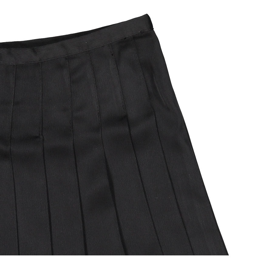 02ac2104a Coco Blanc Black Pleated Skirt | Ladida