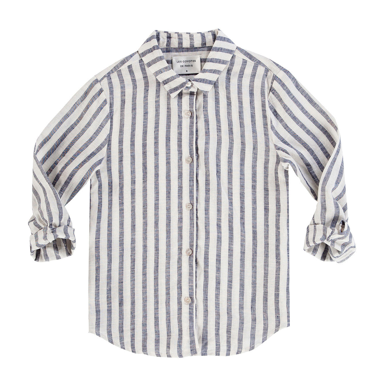 Les Coyotes De Paris Clarisse Striped Blouse - Ladida