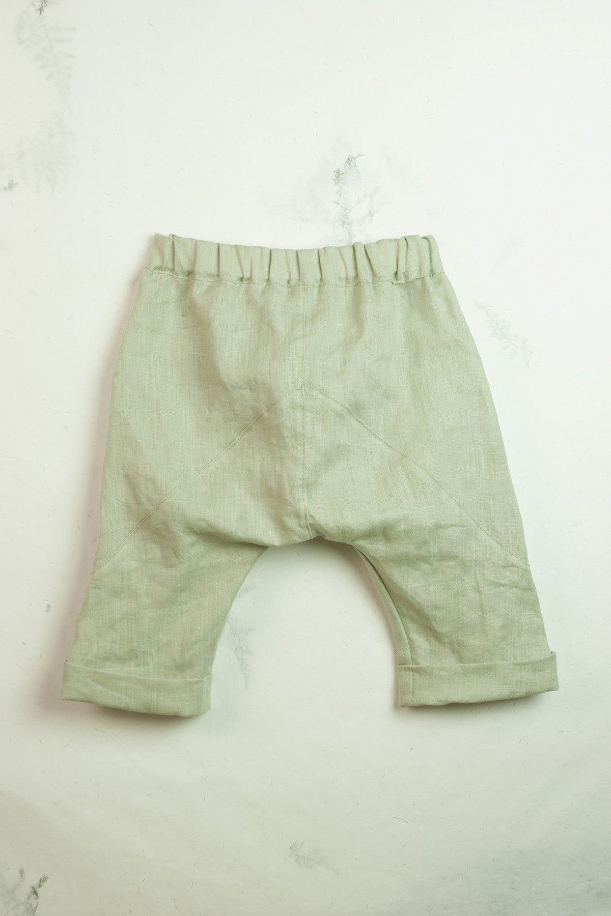 Popelin Green Bermuda Shorts - Ladida
