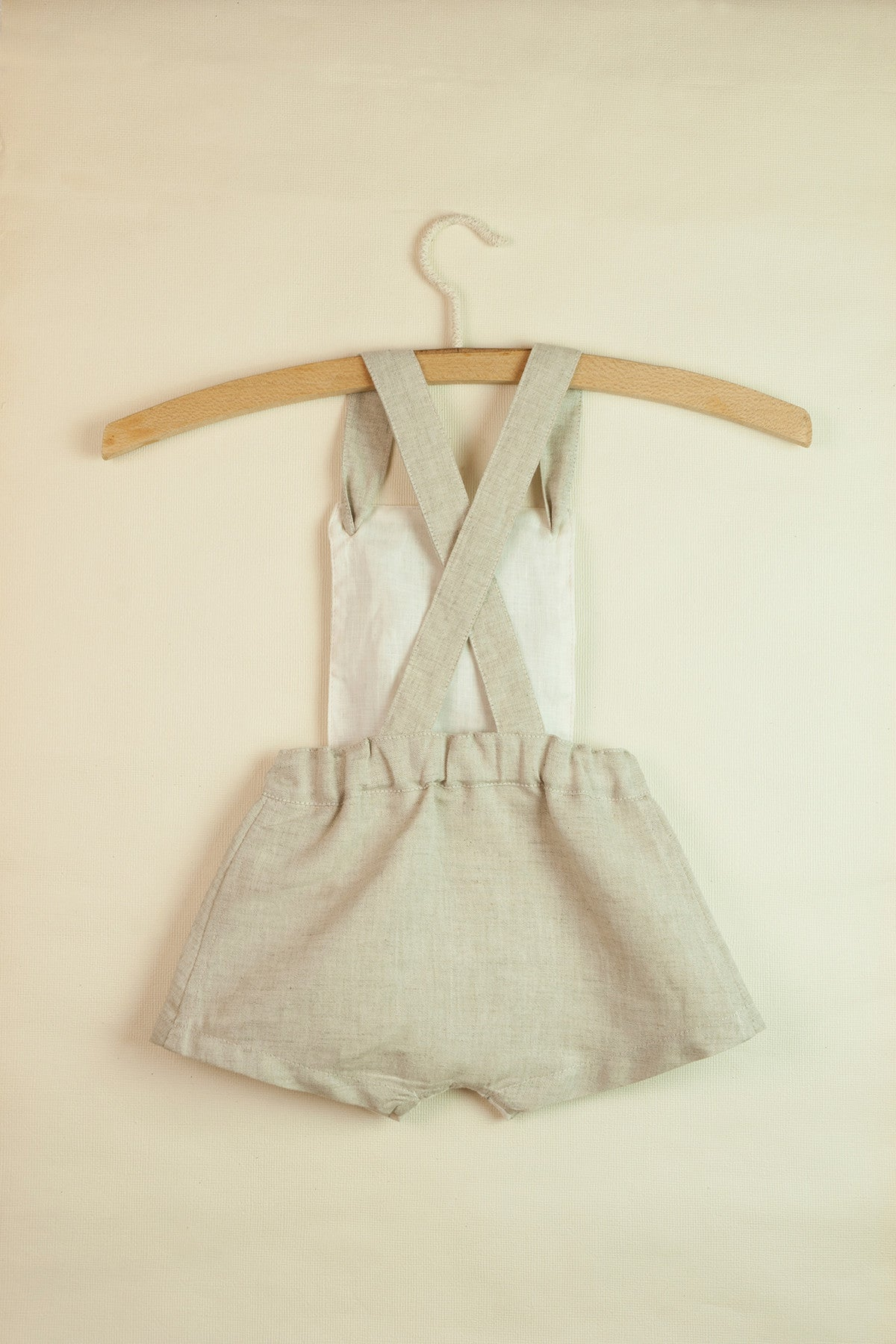 Popelin Sand Reversible Dungarees - Ladida