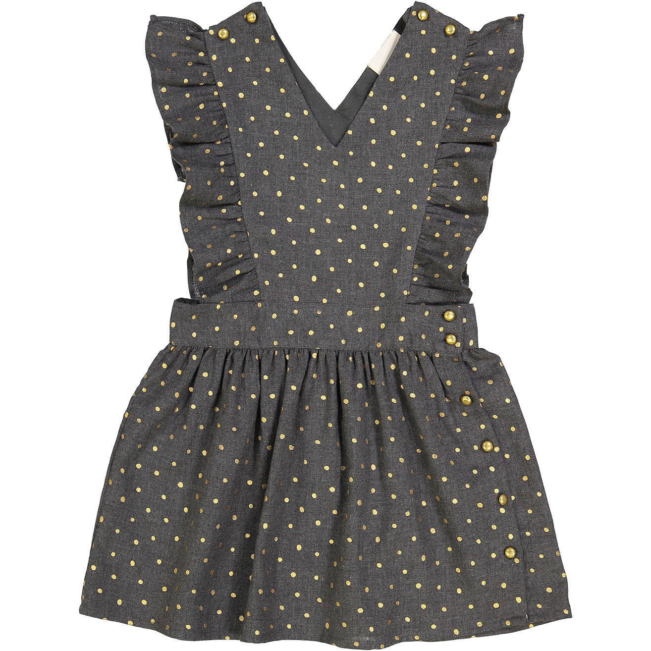 Louis Louise Grey Dot Diana Dress - Ladida