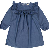Louis Louise Chambray Estelle Ruffle Dress - Ladida