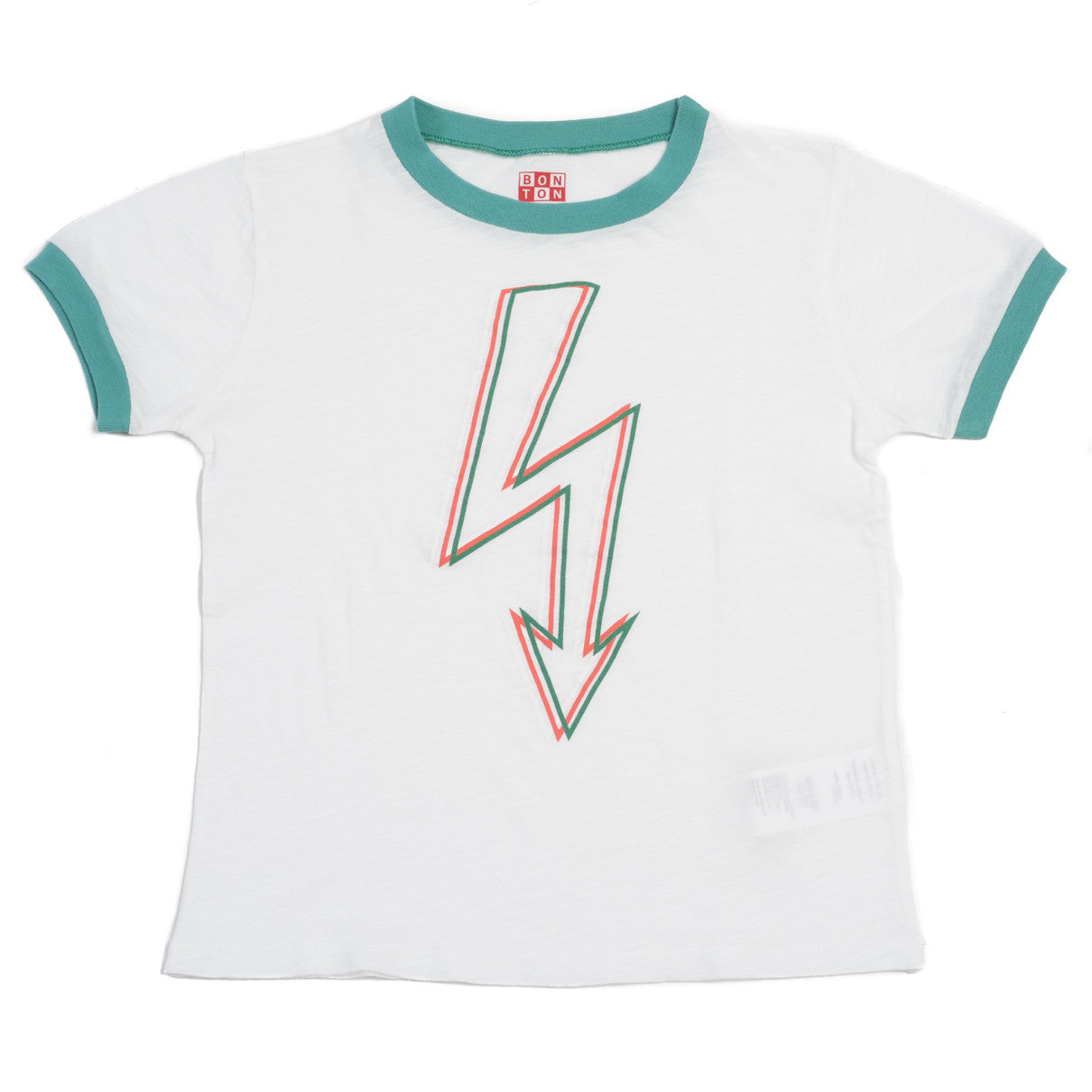 Bonton White Lightning Tee - Ladida