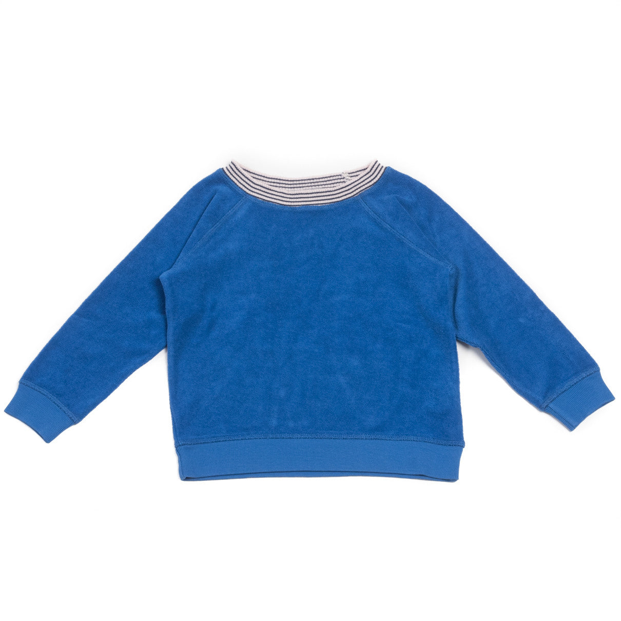 Bonton Blue Terry Sweatshirt - Ladida