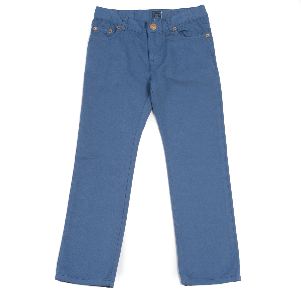 Bonton Blue Canvas Jeans - Ladida