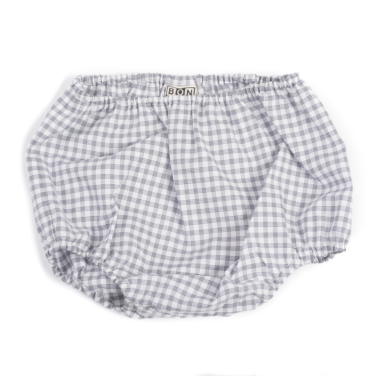Bonton Blue Plaid Bloomers - Ladida