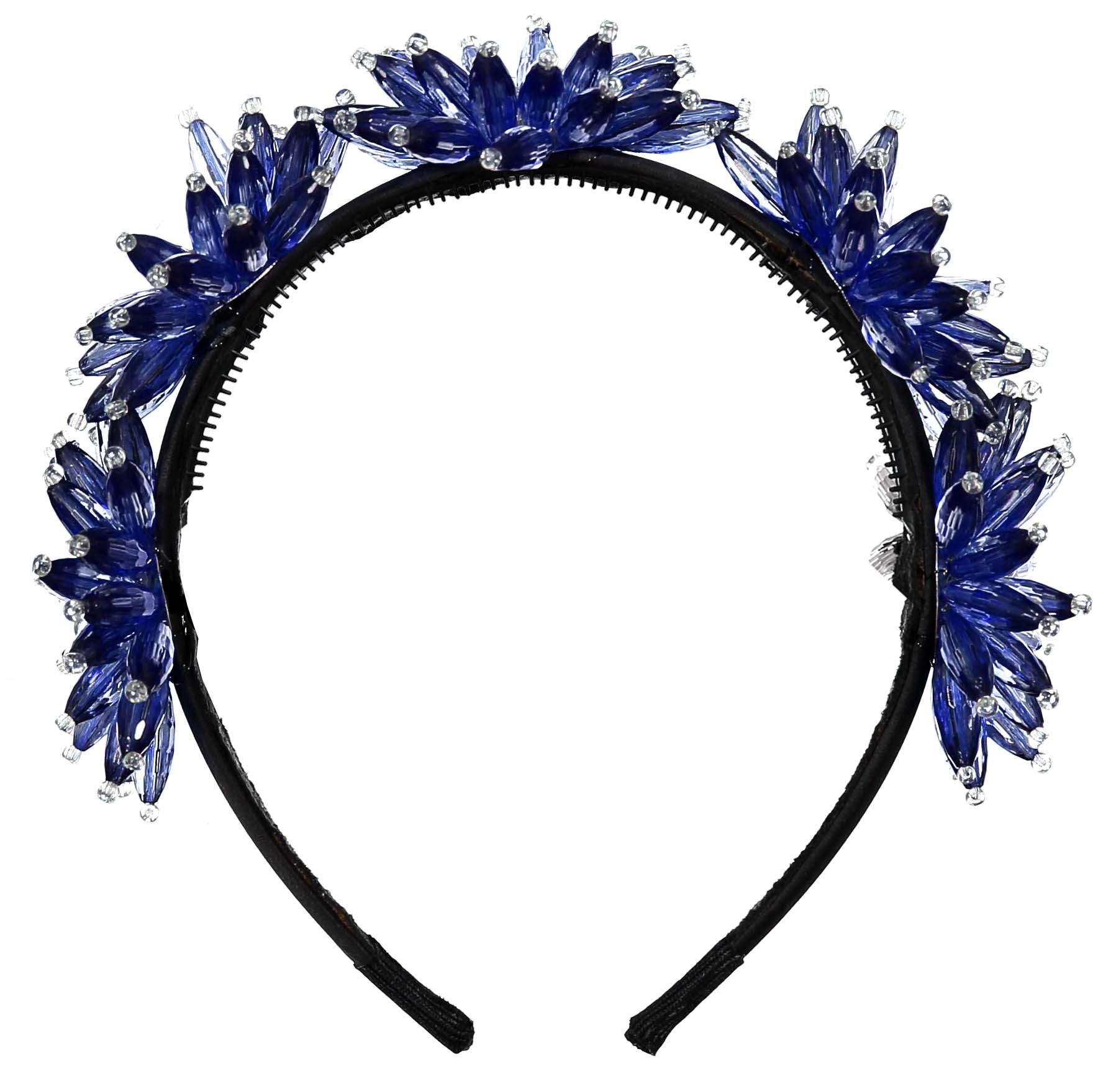 Knot Hairbands Midnight Blue Enchanted Crown - Ladida