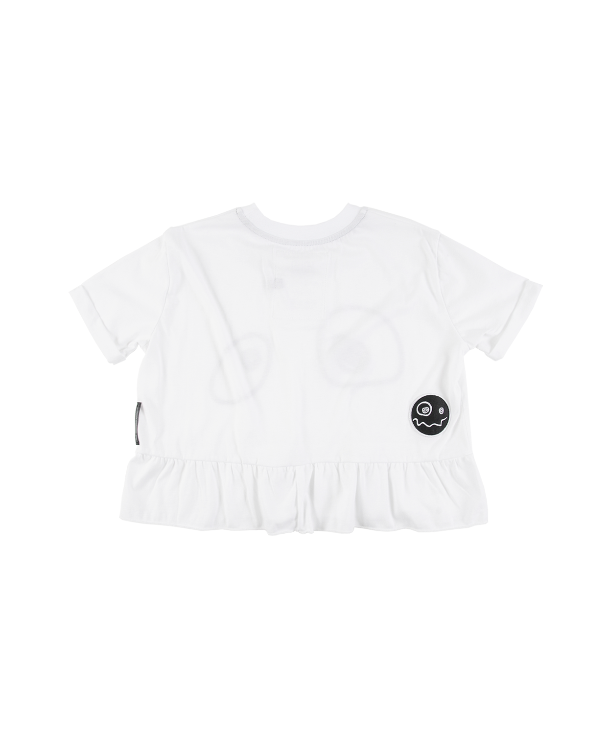 LOUD White Maddy Peplum Tee - Ladida