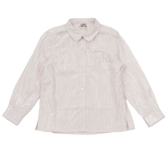 Bonton Rose Petal Lurex Blouse - Ladida