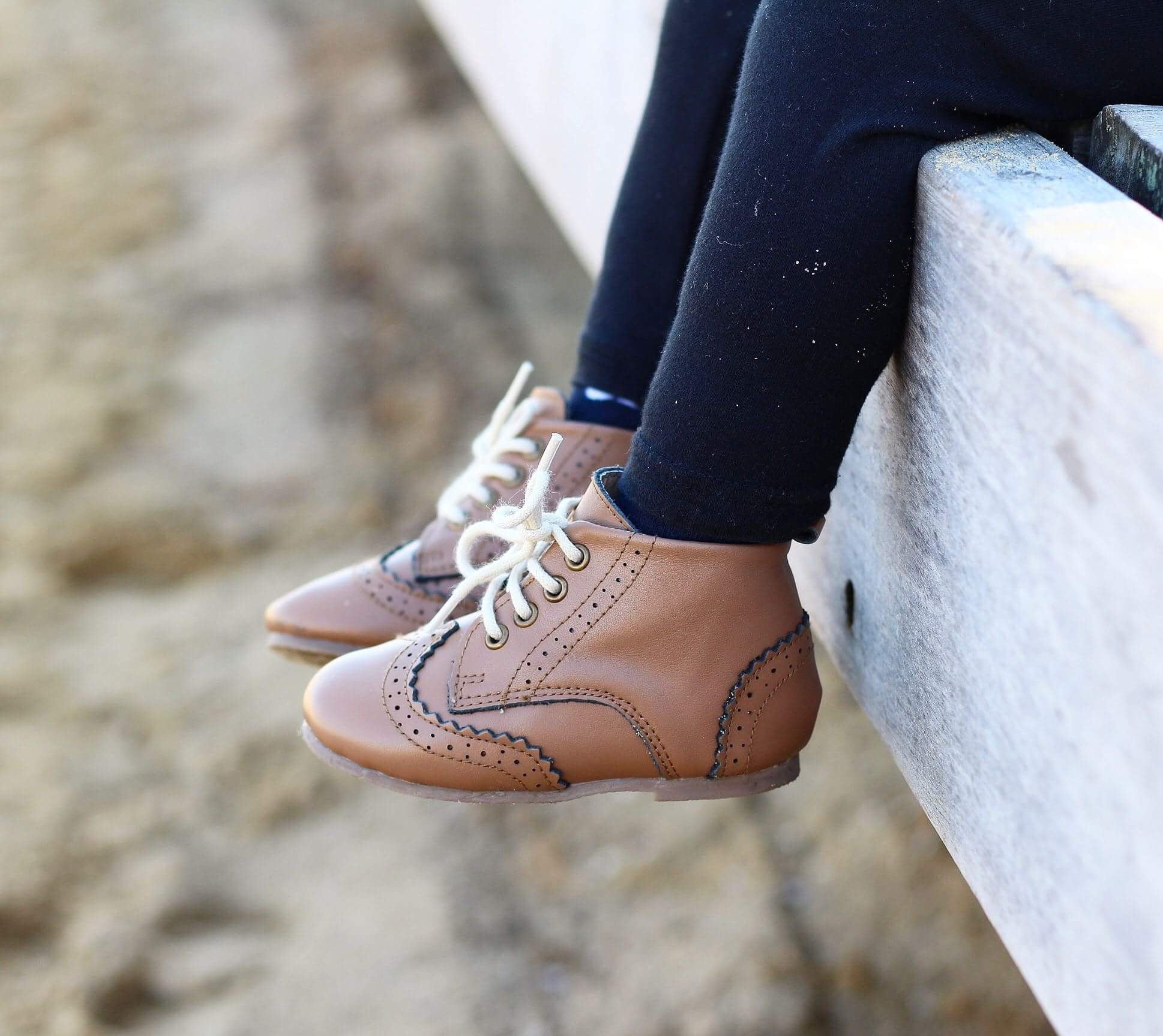 Anchor & Fox Chestnut Cambridge Brogue