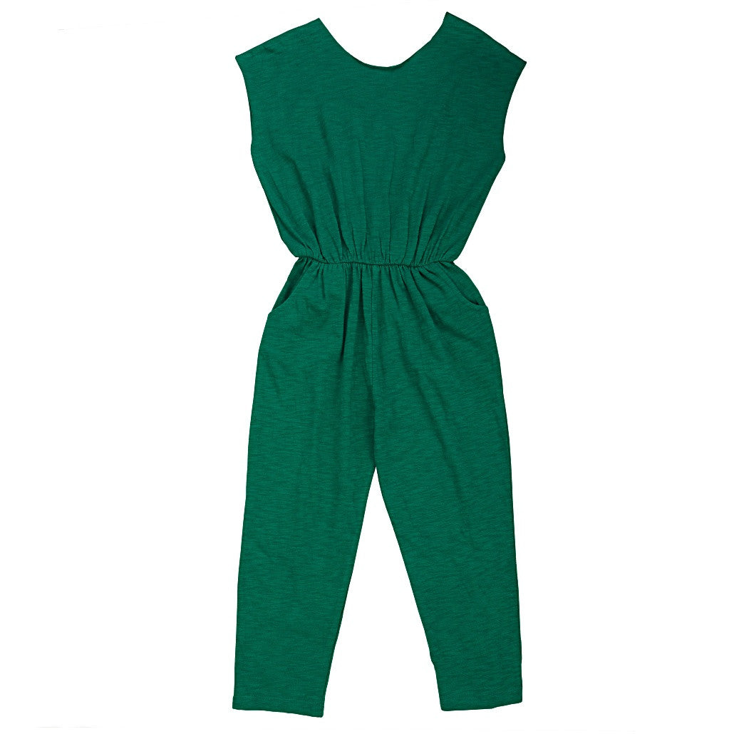 Keti Keta Green Crossed Back Overall - Ladida