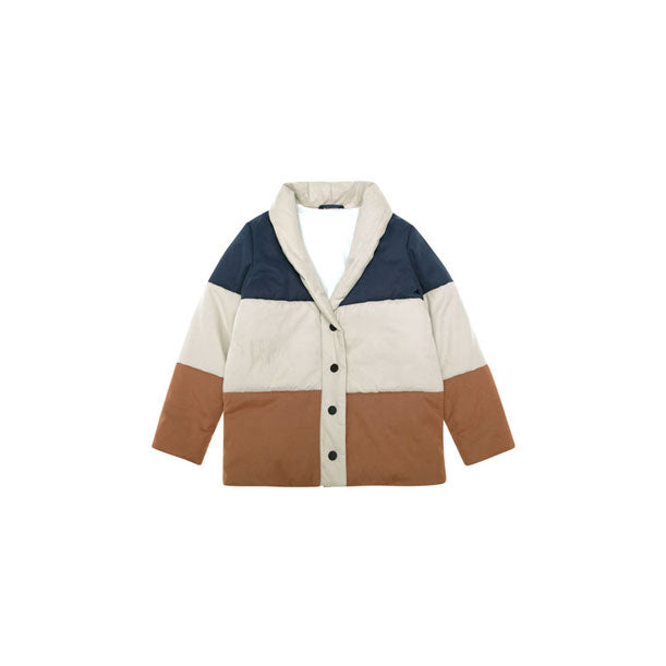The New Society Colorblock Stripe Jacket
