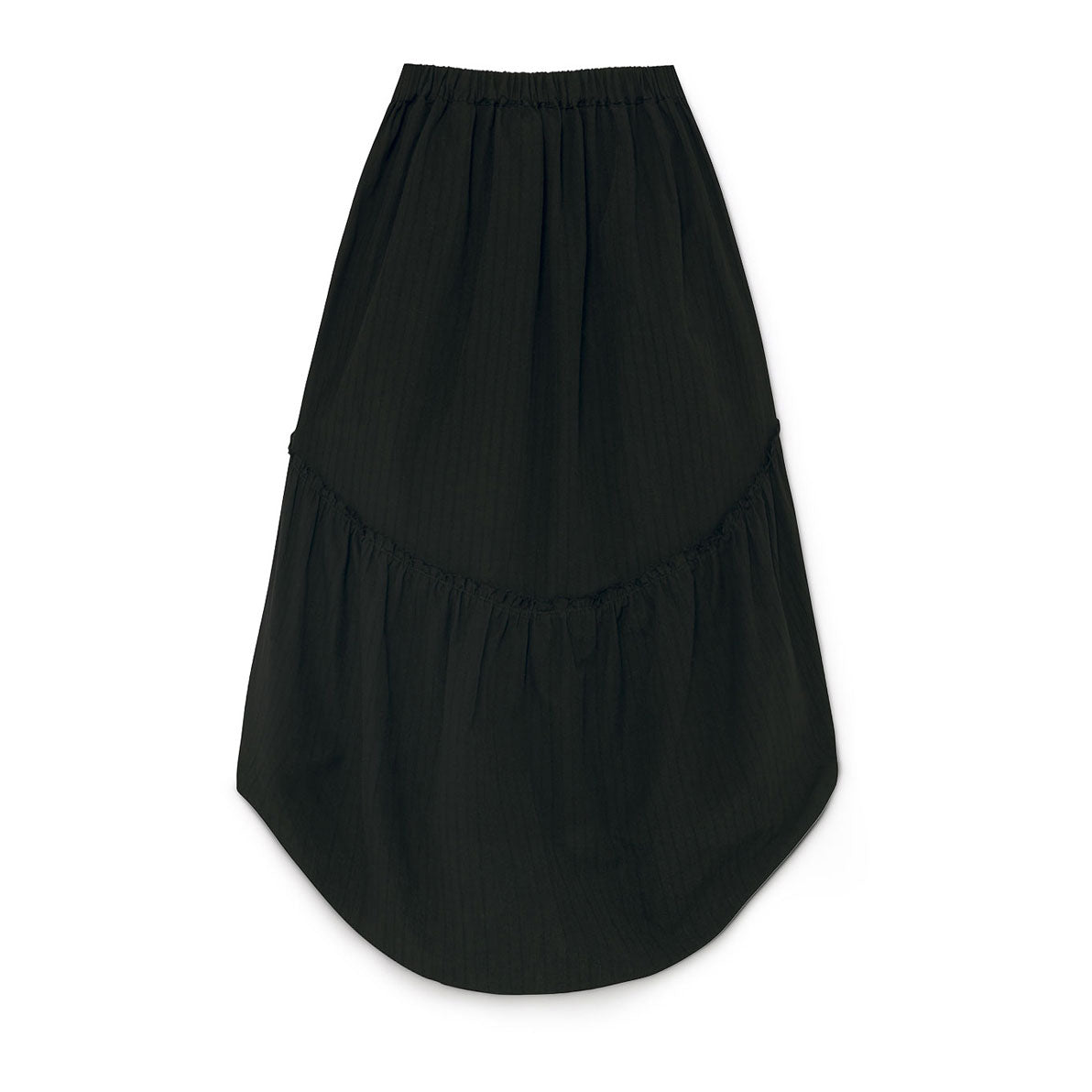 Little Creative Factory Black Crushed Cotton Skirt