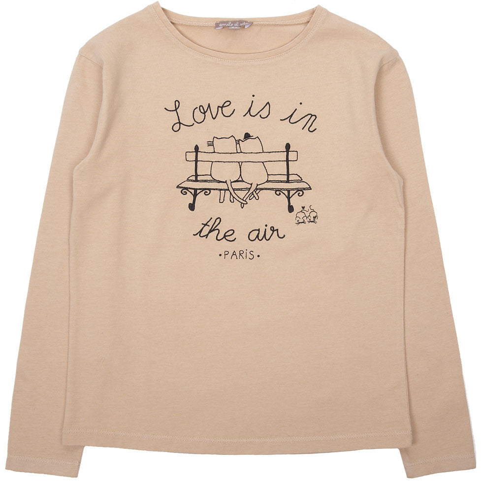 Emile et Ida Blush Love is in the Air Tee
