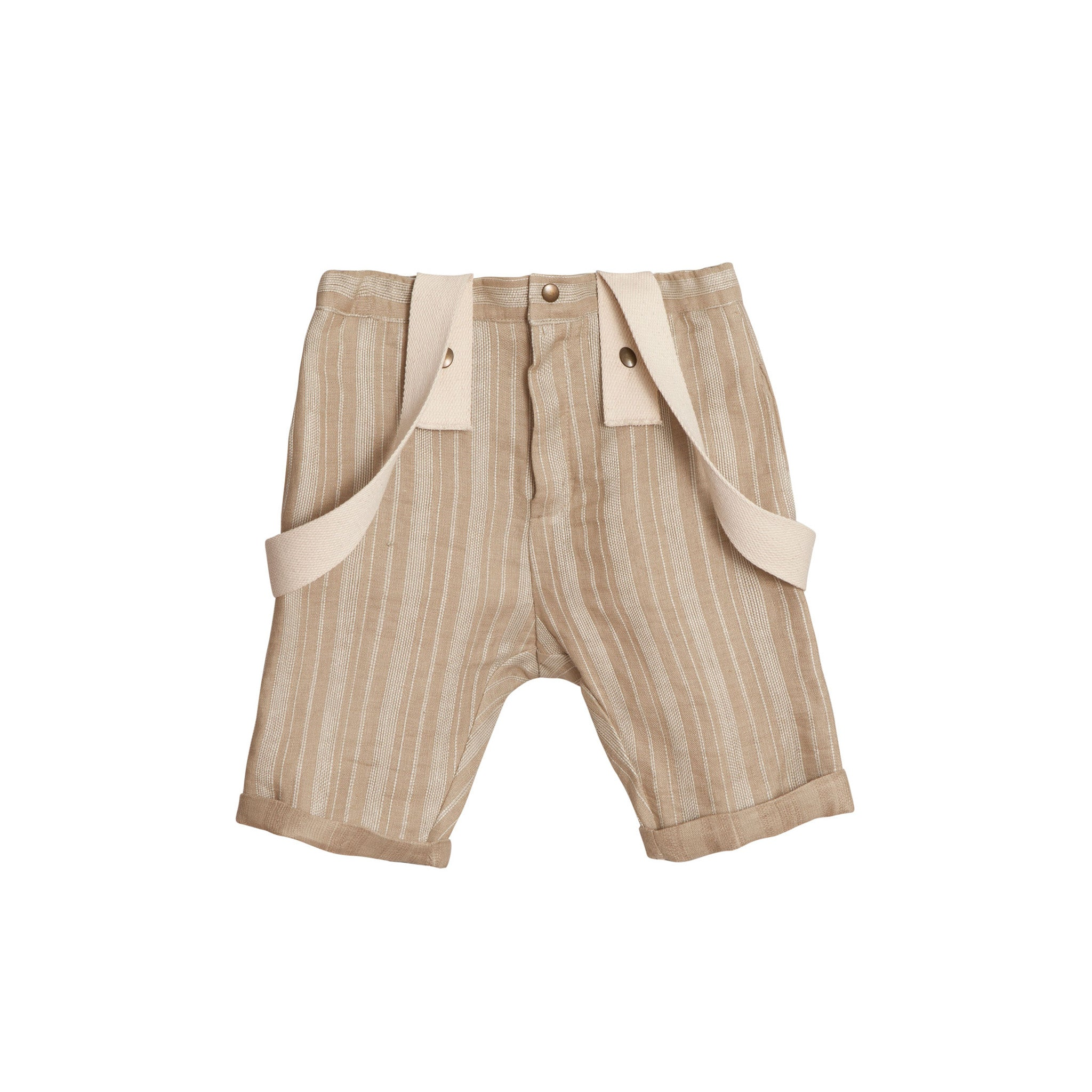 Little Creative Factory Sandy Brown Baby Nomad Shorts - Ladida