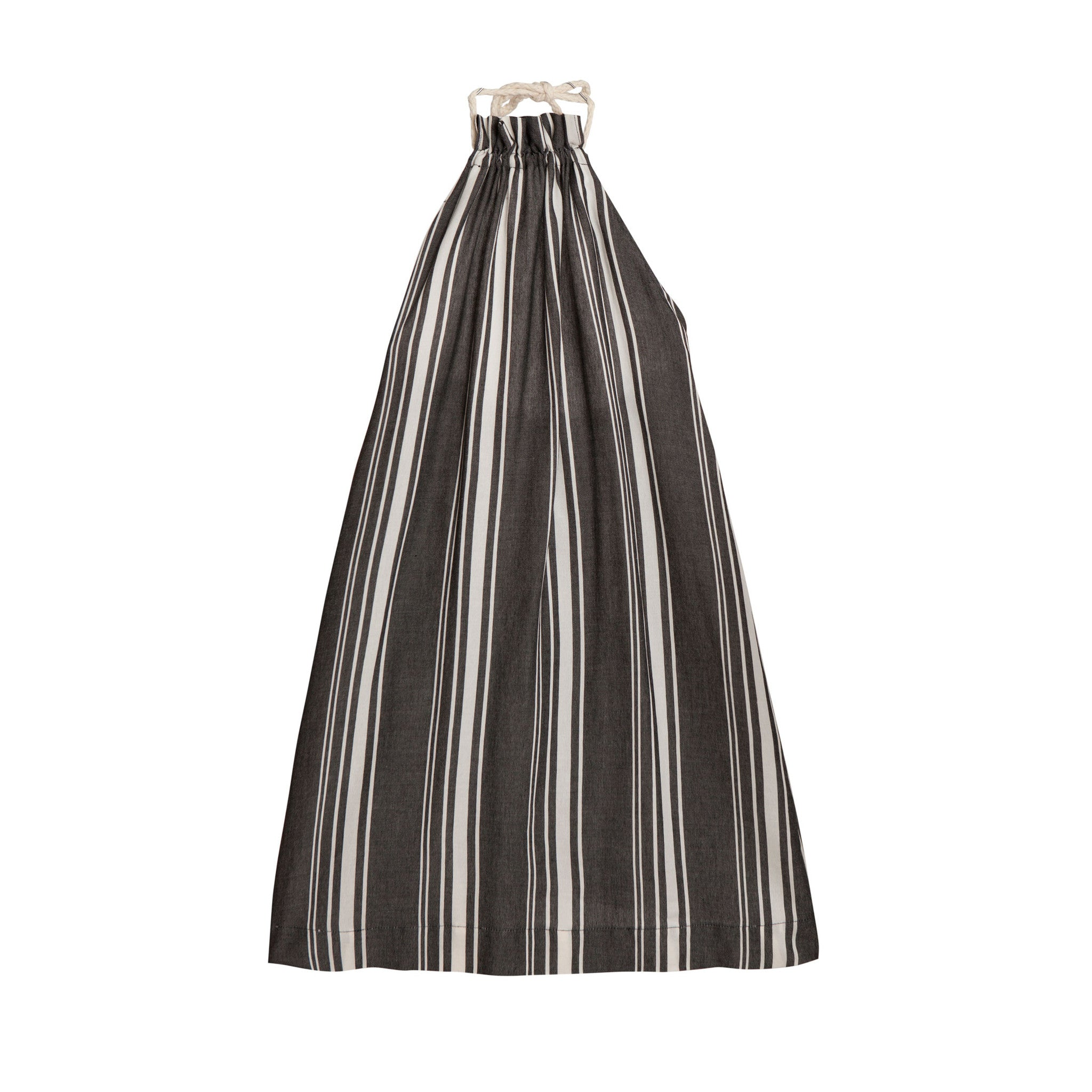 Little Creative Factory Dark Stripes Tuareg Apron Dress - Ladida