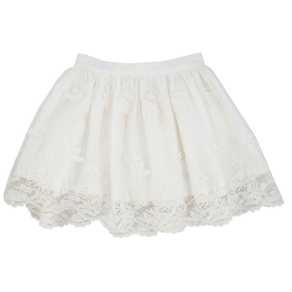 Les Petit Inclassables Ivory Margot Skirt