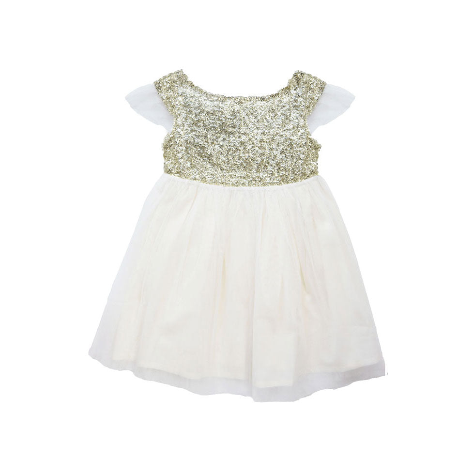 Les Petit Inclassables Ivory Stella Dress