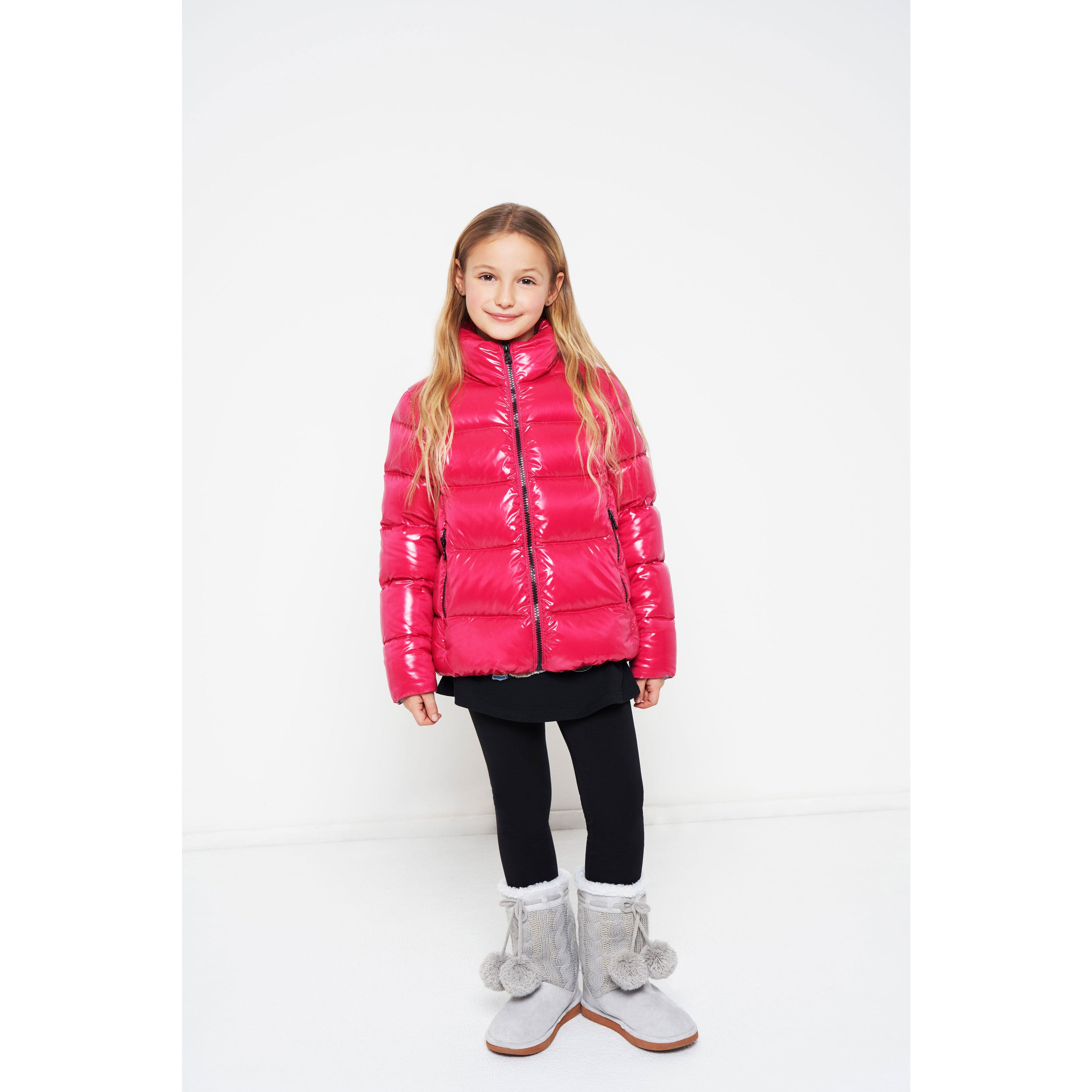 Colmar Fuchsia Down Coat