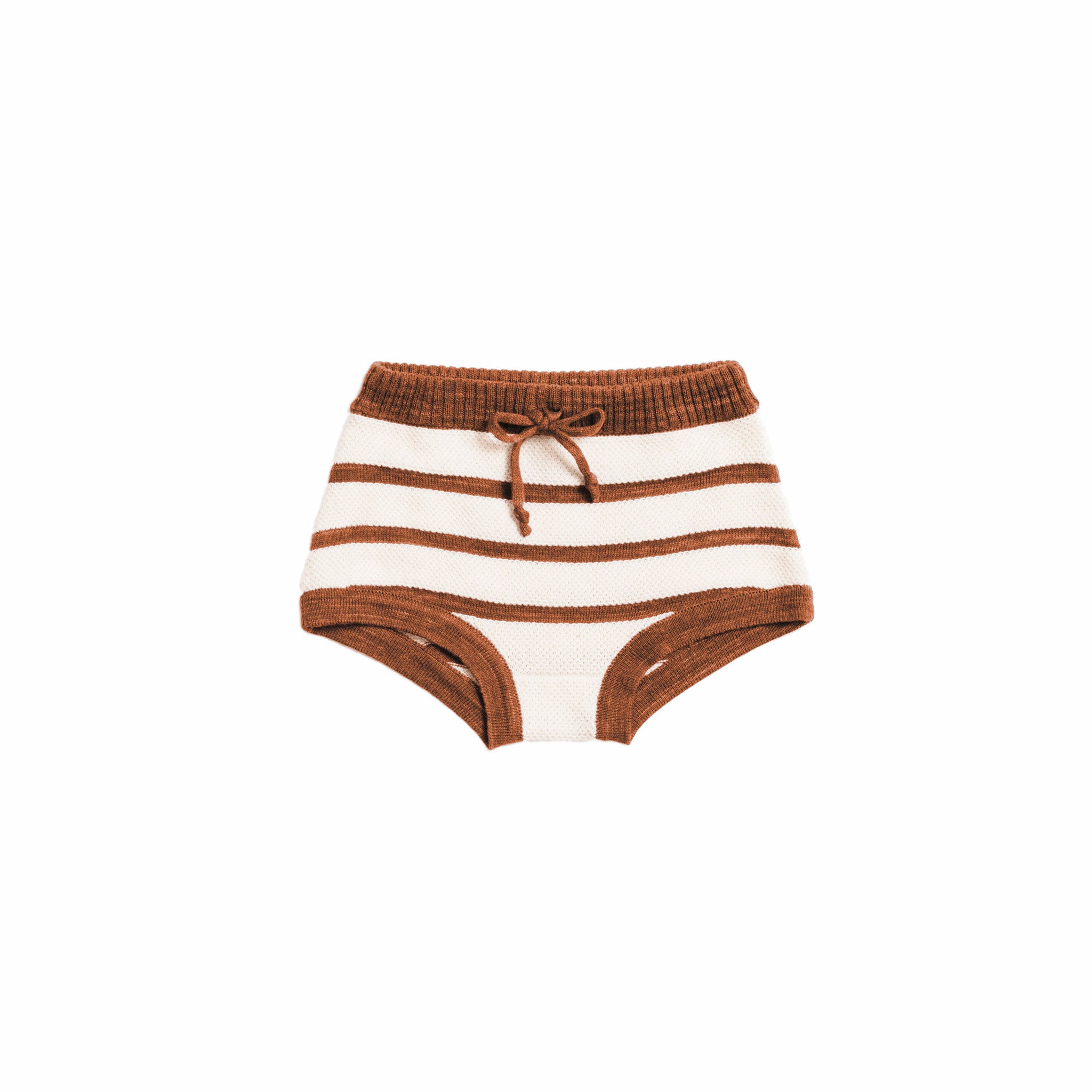 Misha & Puff Terracotta/Natural Boardwalk Bloomer - Ladida