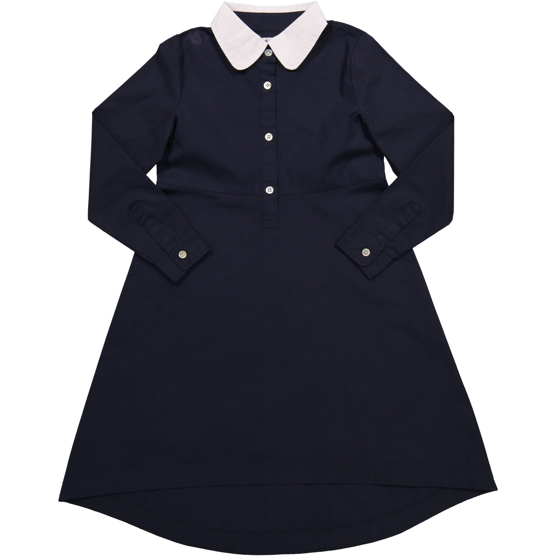 Coco Blanc Midnight Blue Shirt Dress