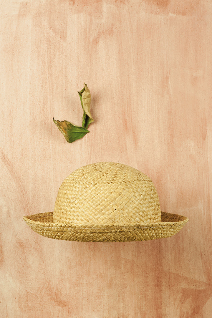 Popelin Straw Hat - Ladida