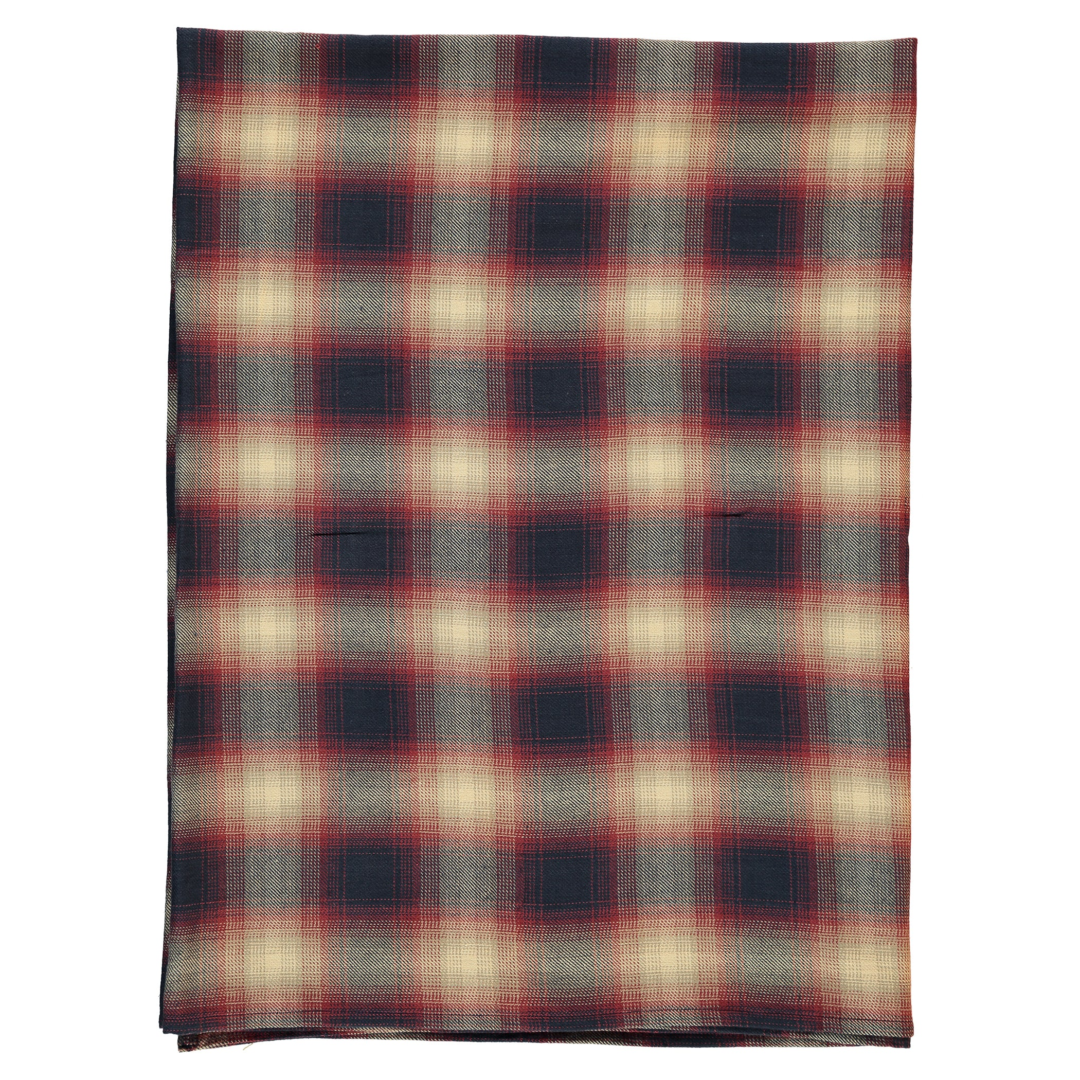 Finger in the Nose Navy Checks Scarf - Ladida