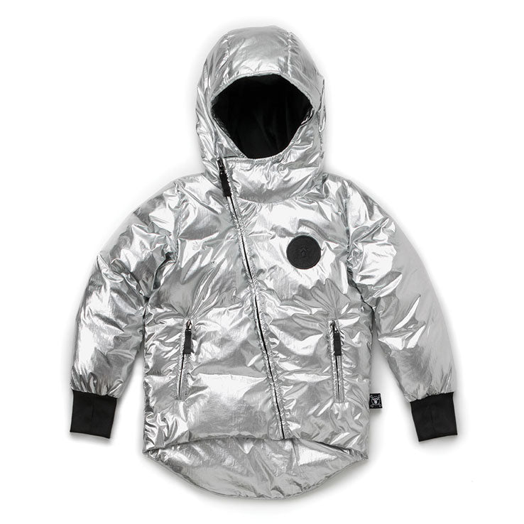 df313ebfc NUNUNU Silver Down Jacket