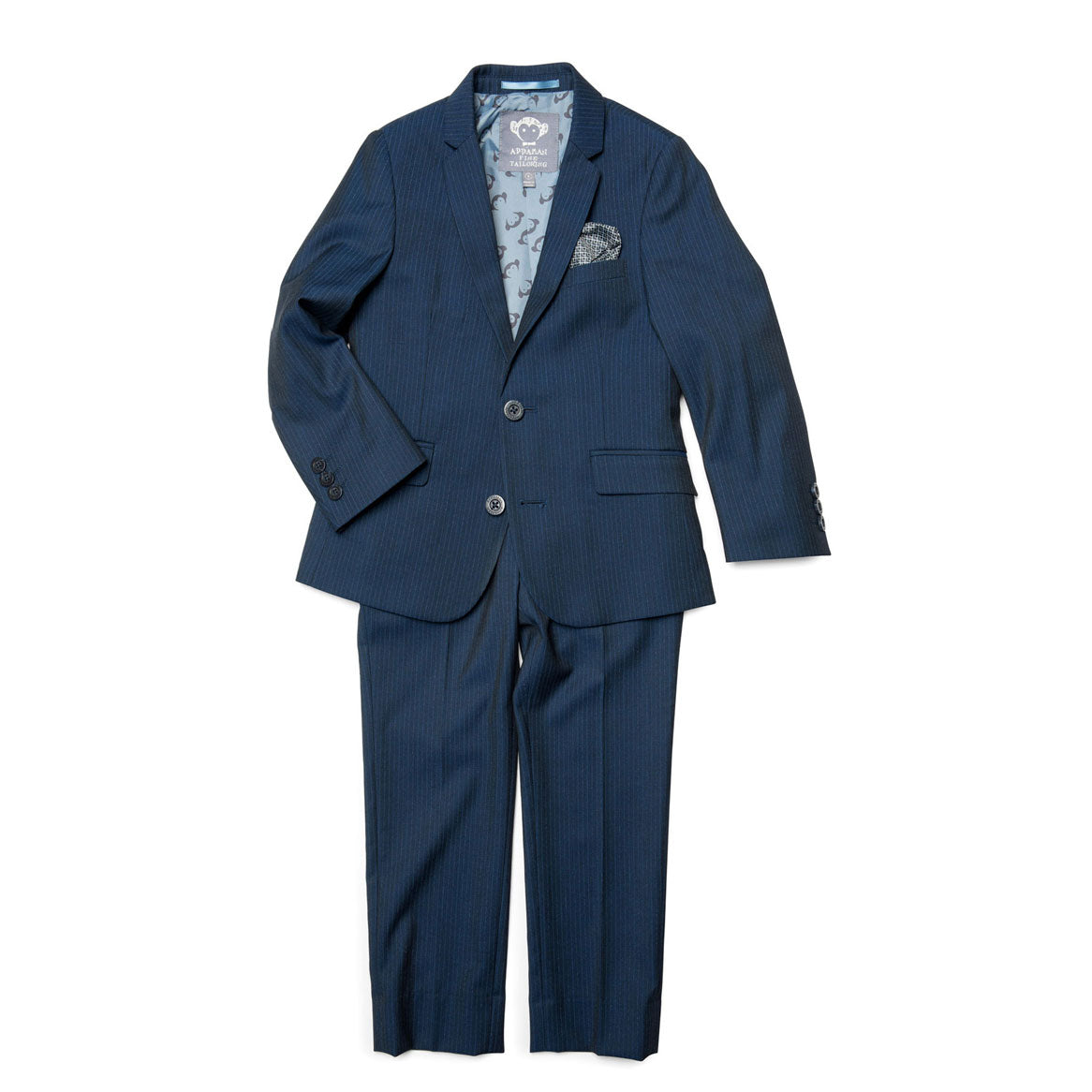 Appaman Navy Pencil Stripe Mod Suit