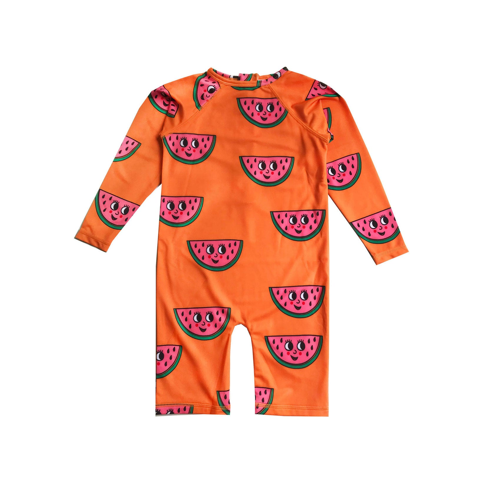 Hugo Loves Tiki Orange Watermelon Rashguard