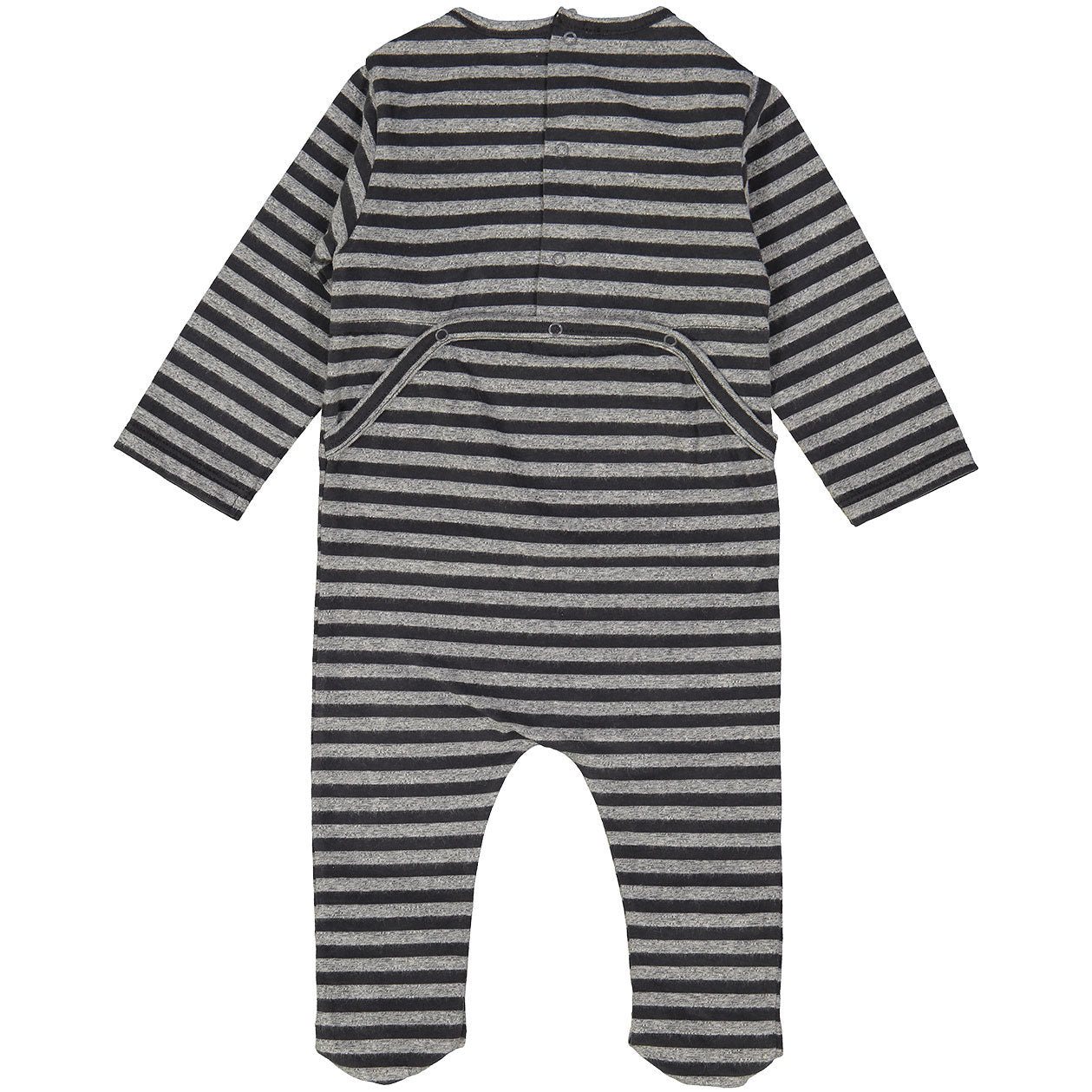 Louis Louise Grey Striped Stretchie - Ladida