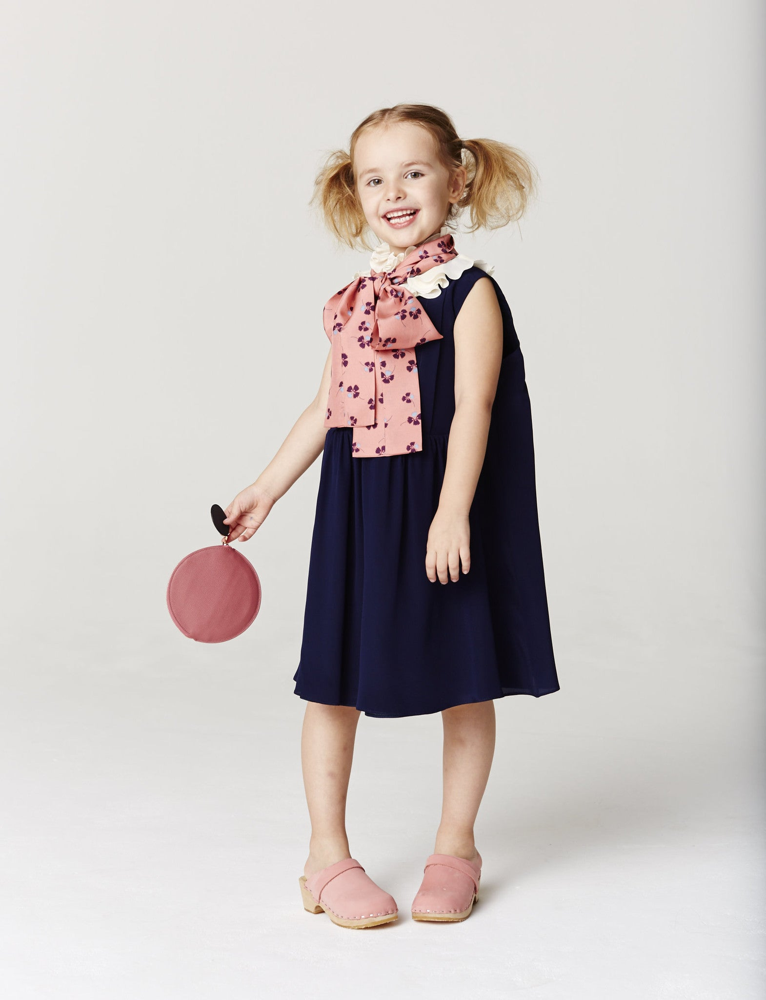 Roksanda Navy Belvoire Dress