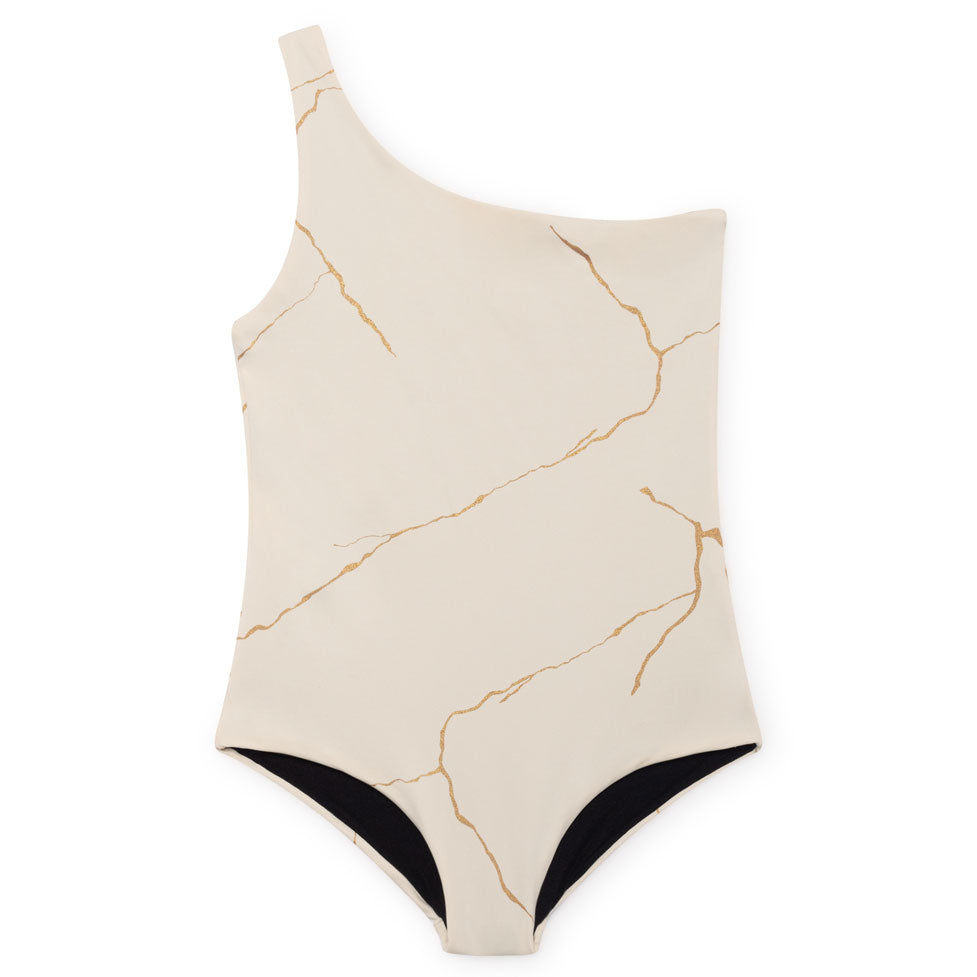 Little Creative Factory Chalk Kintsugi Bathing Suit