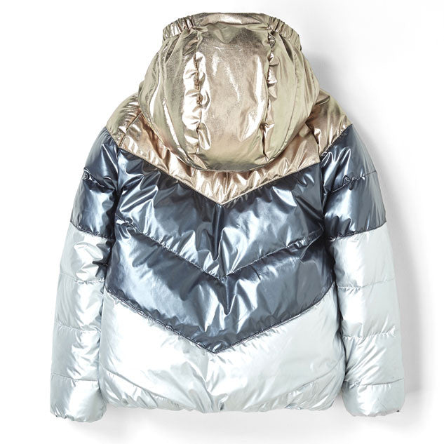 Finger in the Nose Multicolor Metal Snowdance Jacket - Ladida