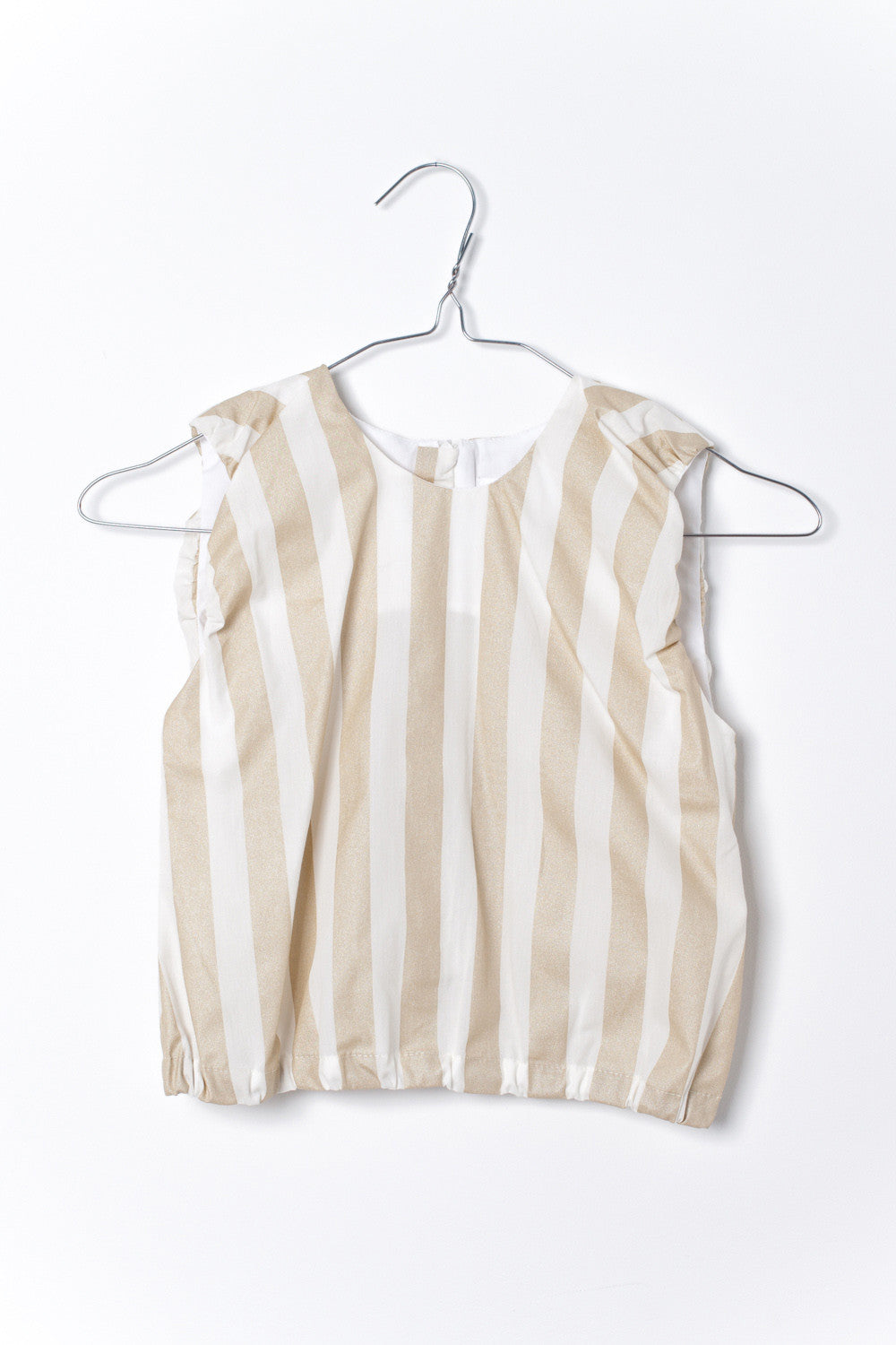 Motoreta Violeta Gold Stripes Blouse - Ladida