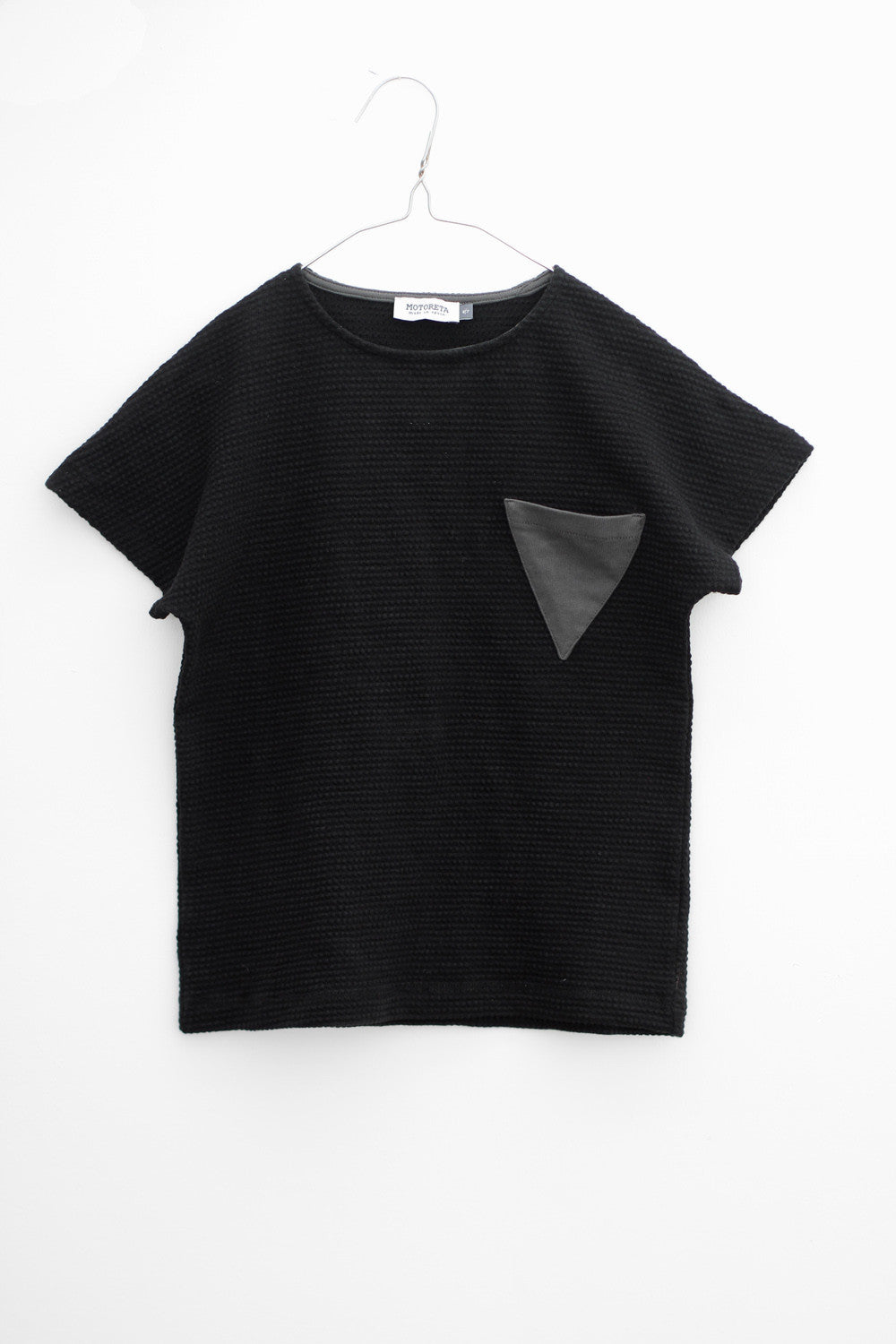 Motoreta Mirto Black T-shirt - Ladida