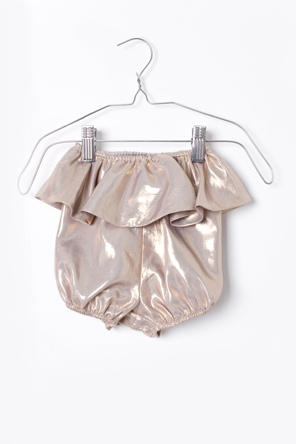 Motoreta Gold Metallic Xerez Shorts - Ladida