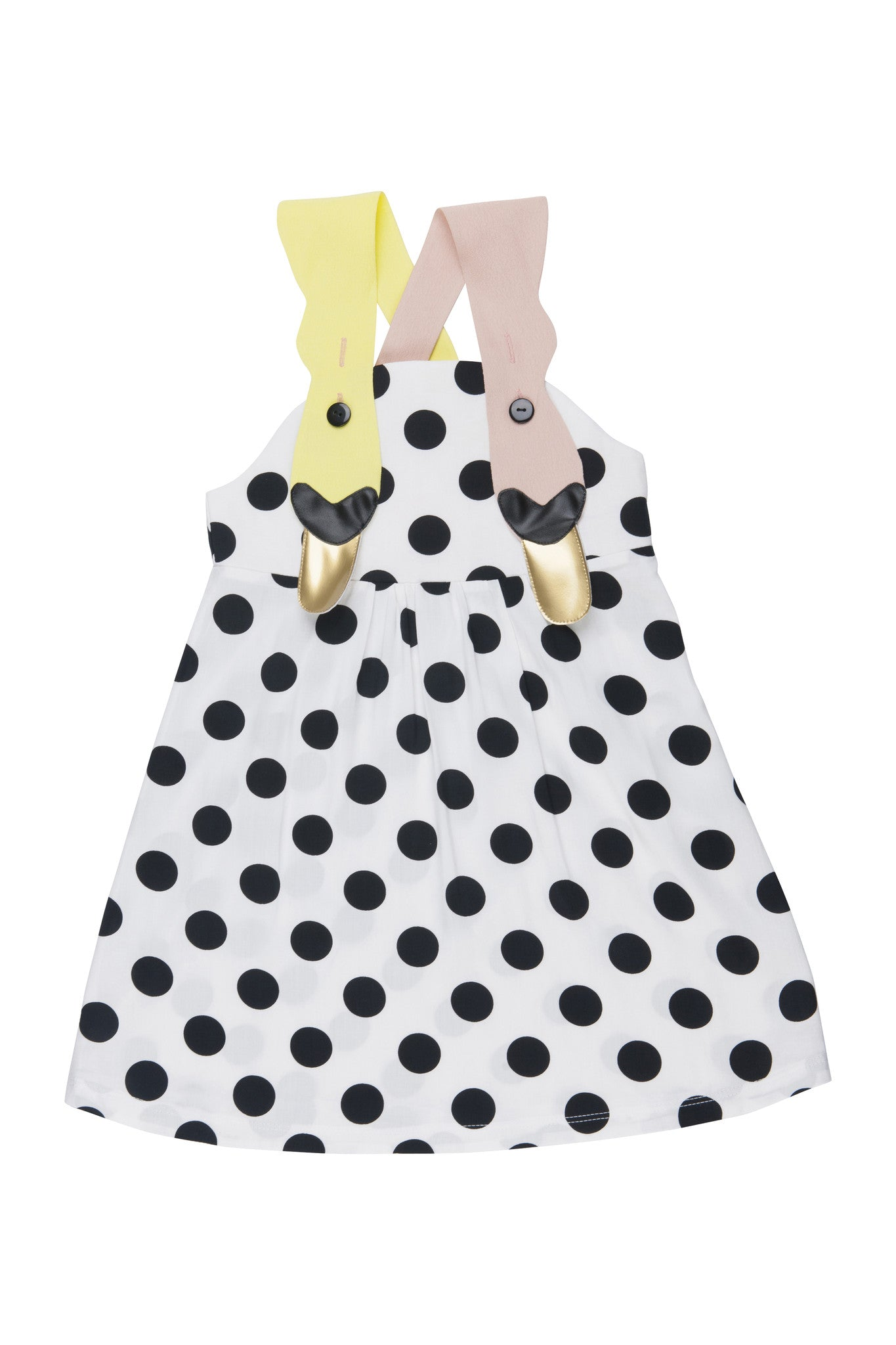 Bang Bang Sunshine Dot Dress - Ladida