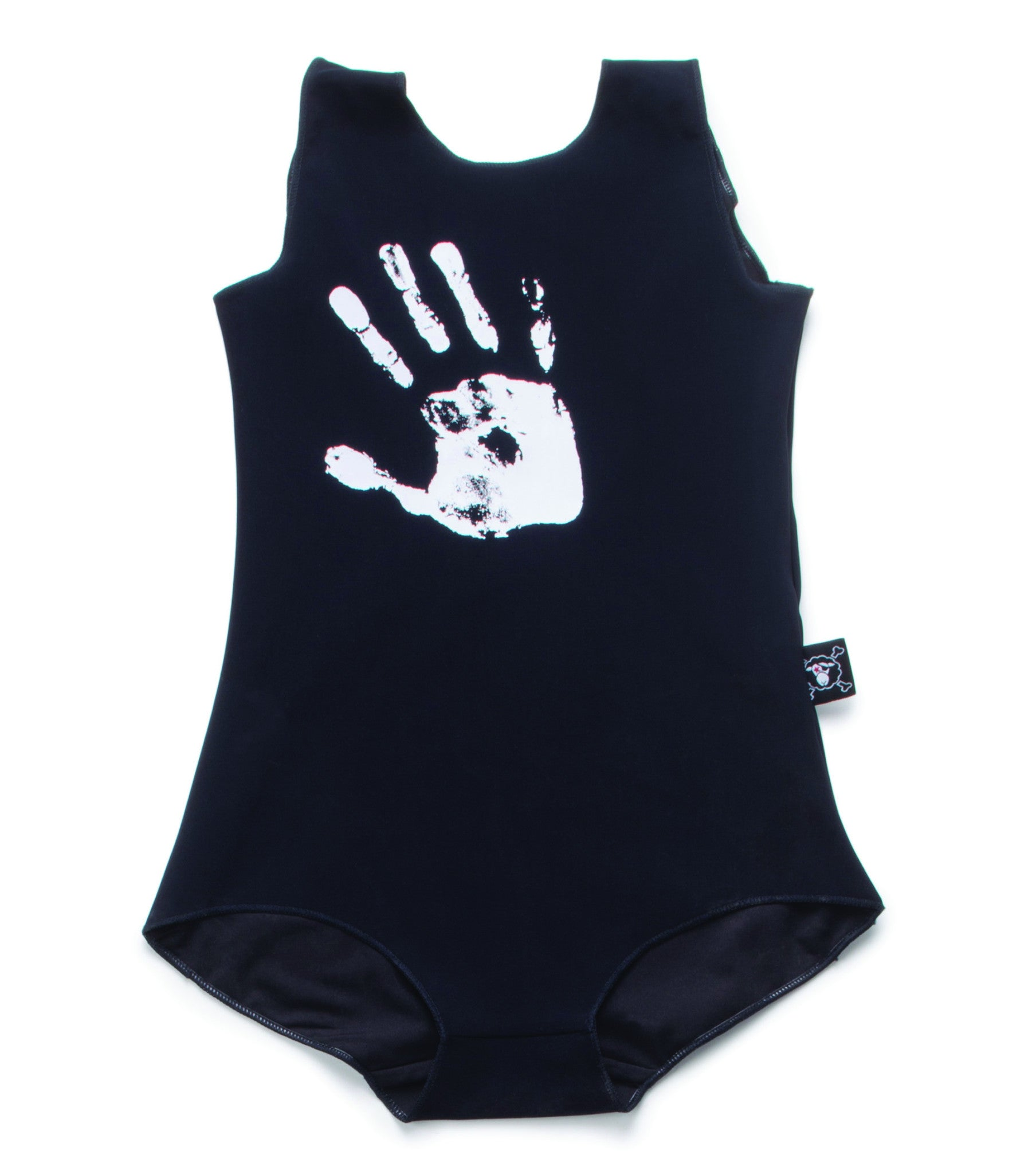 NUNUNU Black Hand Print Swimsu - Ladida