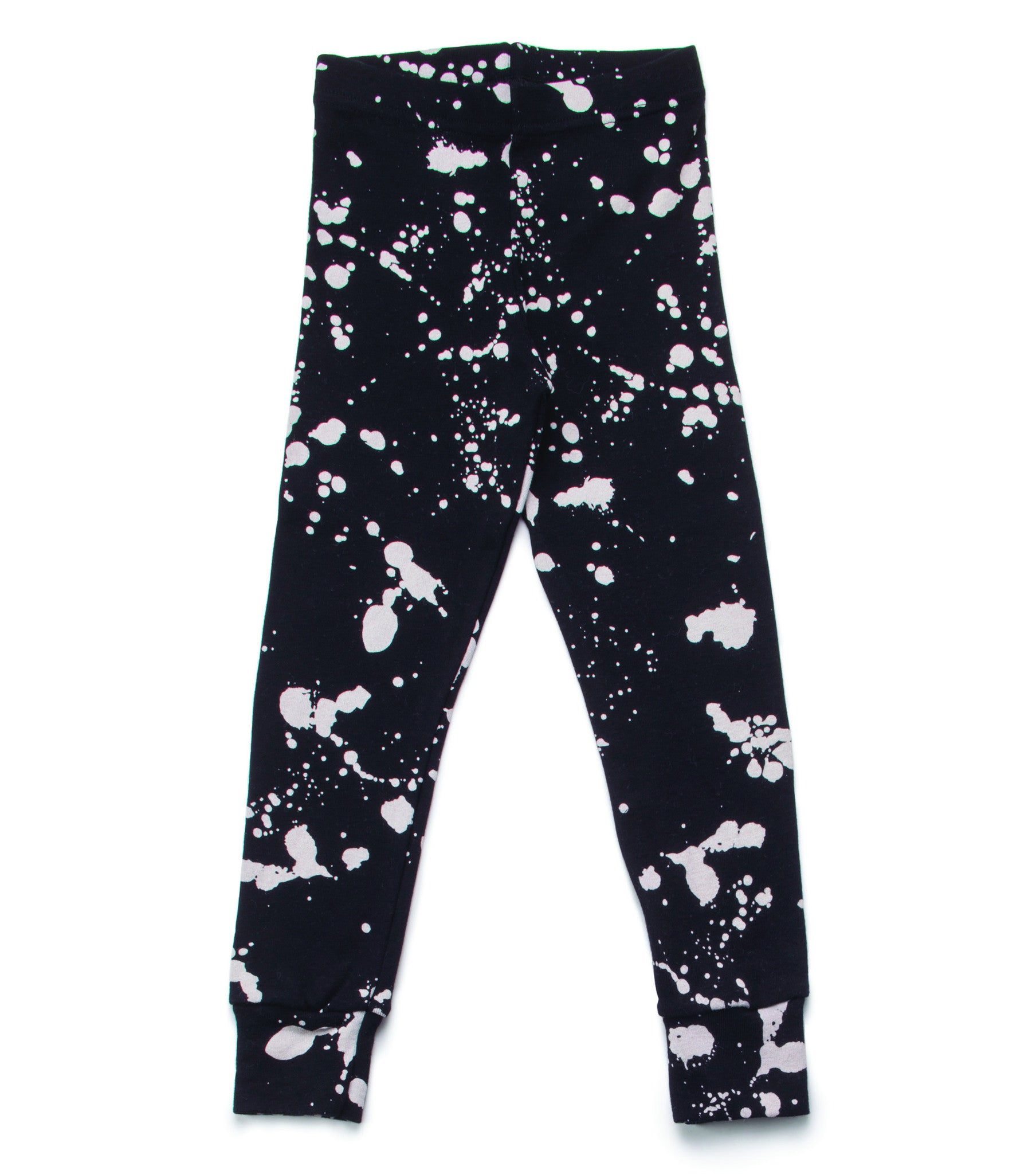 NUNUNU Black Splash Leggings - Ladida