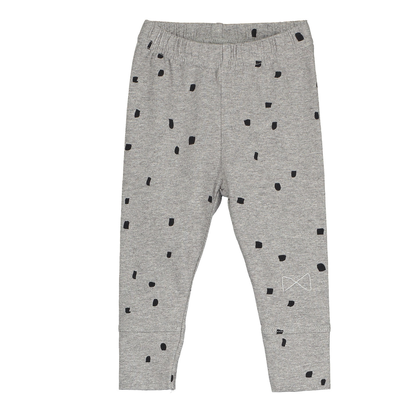 Mini Sibling Grey Confetti Slim Trousers - Ladida