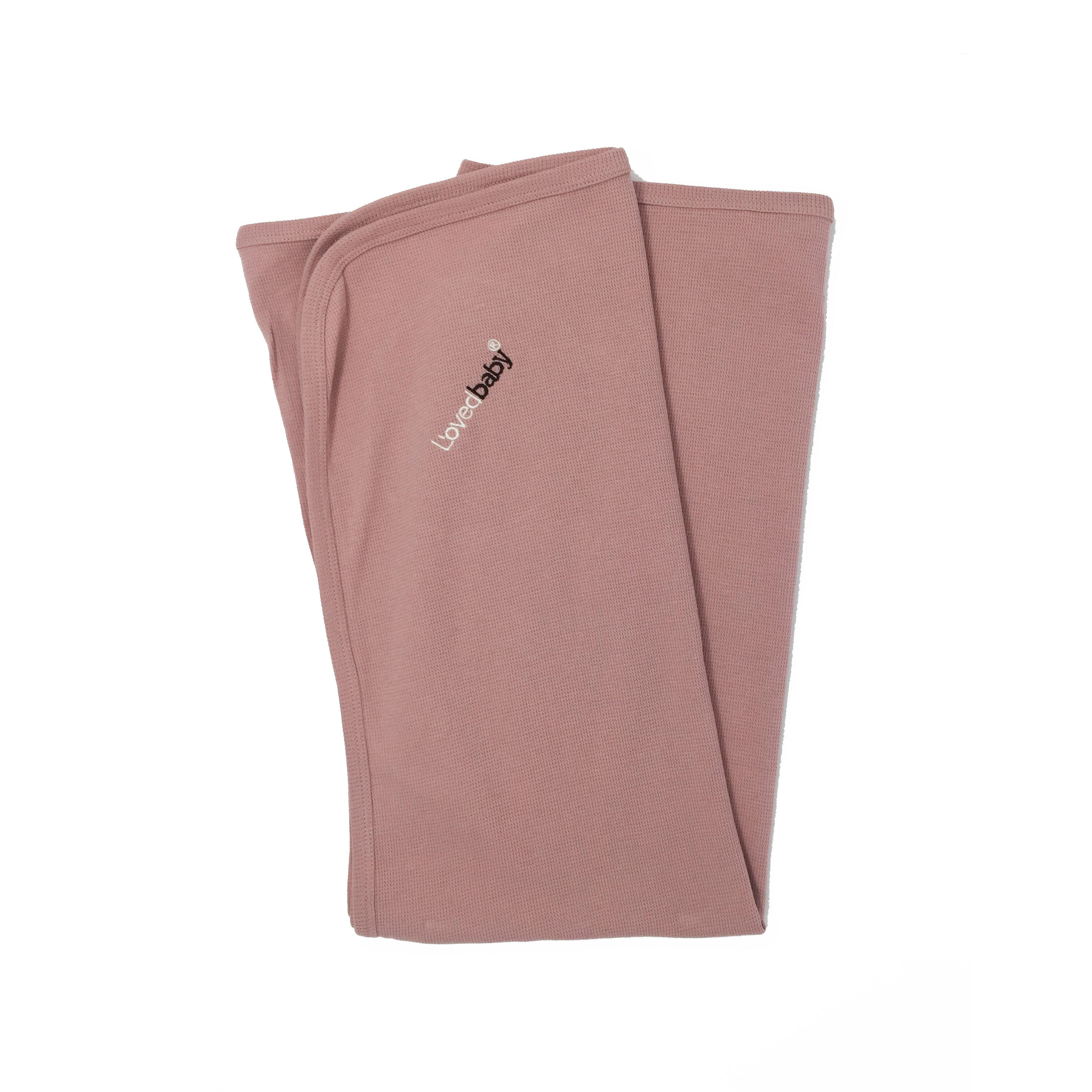 L'ovedbaby Mauve Swaddling Blanket