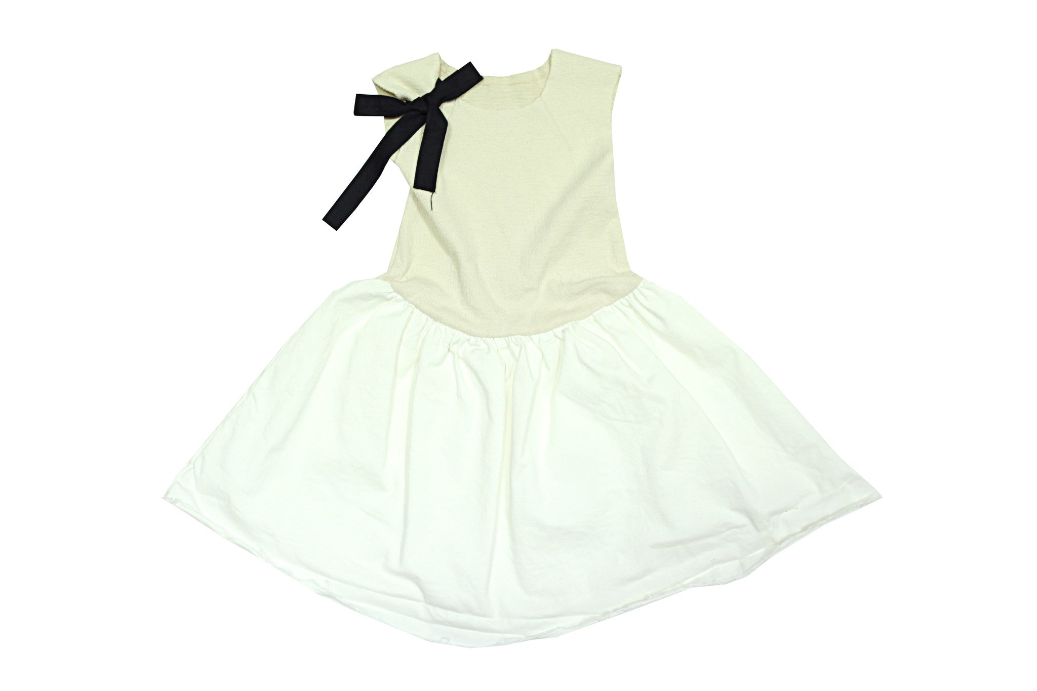 Tambere Cream Dress - Ladida
