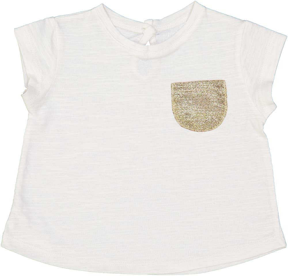 Louis Louise Off White Jersey Tee - Ladida