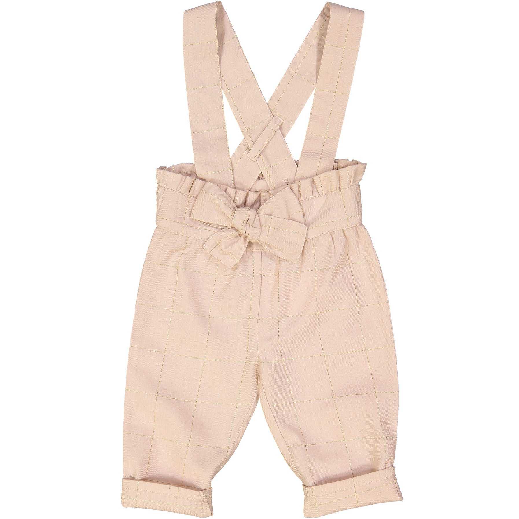 Louis Louise Pink Check Bello Romper - Ladida
