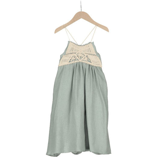 4f9672c2acc Belle Chiara Mint Crochet Maxi Sundress