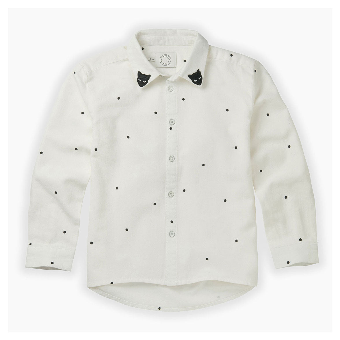 Sproet and Sprout Milk Dots Blouse