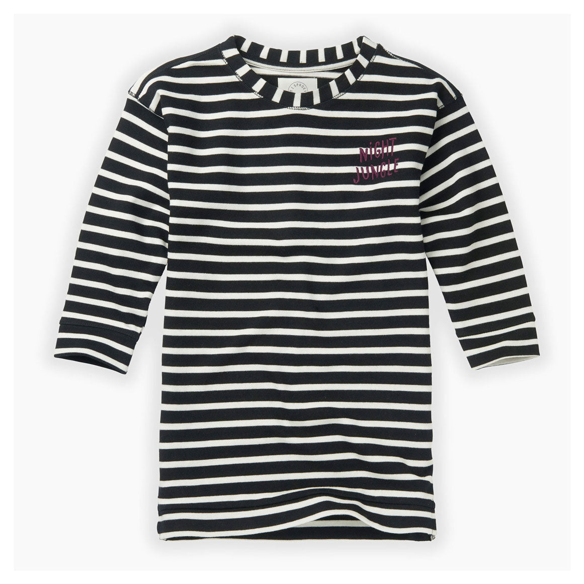 Sproet and Sprout Black Stripe Sweatdress