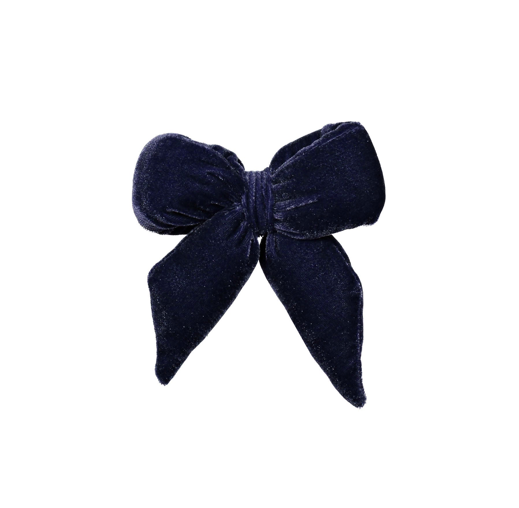 Knot Hairbands Twilight Blue Wild Bow Clip